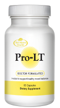 Pro-LT supplement bottle