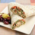 Mediterranean Salad Wrap