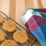 Coconut Oil Crunchy Peanut Butter Cookies