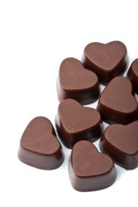 eat chocolate for heart health