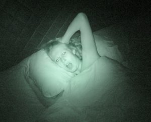 Hallucinations and visions during sleep paralysis