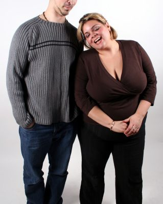 Mixed Weight Couples Fat Women With Thin Men
