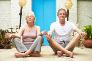 Precautionary measures while practicing yoga for people with arthritis