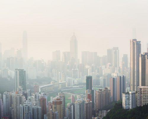 air pollution blood clot