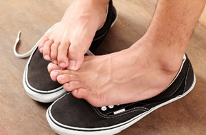Precautions for walking barefoot