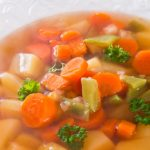 Chicken, Parsnip And Carrot Soup