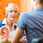 Lifelong loud noise exposure and hearing loss in seniors