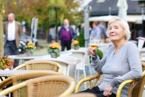 Moderate Drinking in seniors causes heart disease