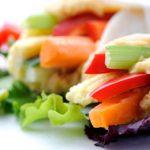 Hummus-Veggie Wrap