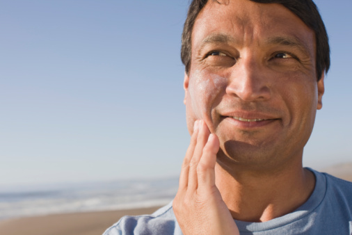 aging skin protection from sun
