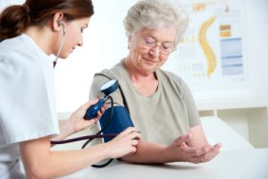 Changes in blood pressure signal heart disease