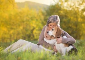 seniors owning a pet for better health