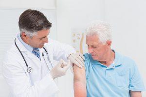 seniors getting vaccination