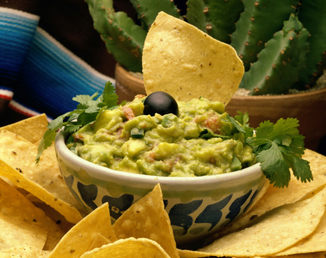 Herbed guacamole recipe