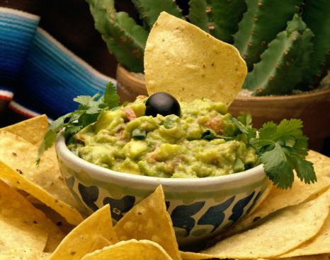 Herbed guacamole recipe