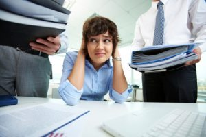 Anxiety in workplace lowers job performance