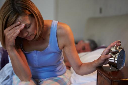 Melatonin levels and sleep disorders