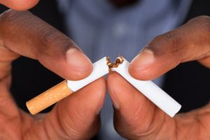 Not everybody gains weight after quitting smoking: Study