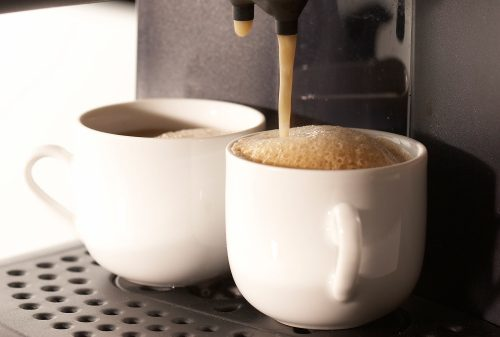 Bacteria and germs on coffeemakers