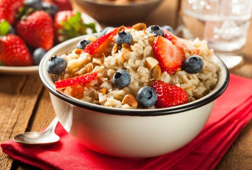 Instant oatmeal for breakfast reduces appetite by lunch