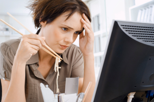 stress leads to poor food choice