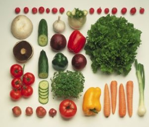 Fruits and vegetables beneficial for the mind and body