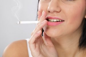 Teeth loss due to smoking