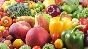 Eating more fruits and vegetables helps in weight loss management