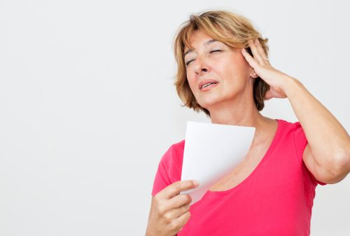 Other causes and symptoms of hot flashes in menopause