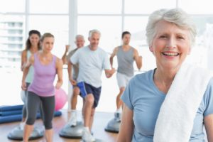 Regular exercise helps seniors retain health