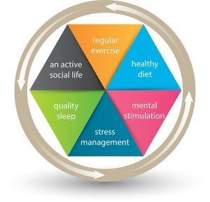 To help prevent Alzheimer's disease employ the six pillars of brain-healthy lifestyle