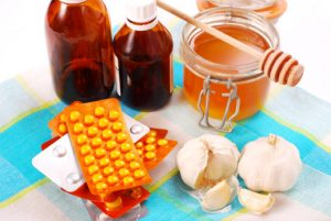 Antibiotics and honey