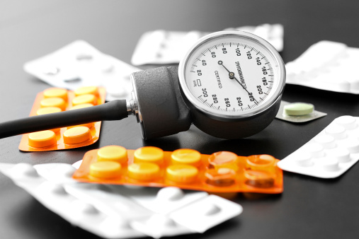 Blood pressure medication can't erase previous damage