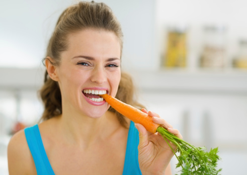 Age-related macular degeneration stopped by carotenoids in carrots