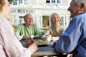 Seniors benefit from face-to-face socializing to ward off depression