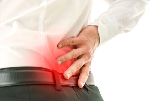 Symptoms of arthritis associated with Crohn's disease