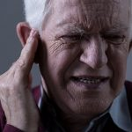 Bone loss contributes to temporary hearing loss