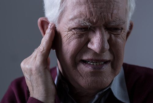 Bone loss contributes to temporary hearing loss