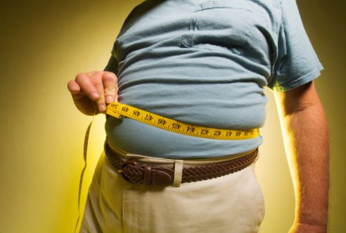Obesity rates higher among less educated population