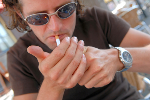 Smoking rates on decline, except in three groups