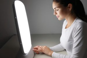 Non-seasonal major depressive disorder, winter depression treatable by light therapy