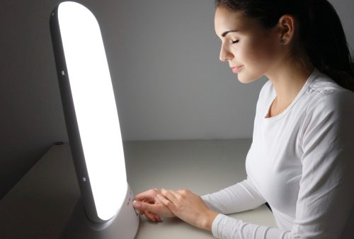 Non-seasonal major depressive disorder, winter depression treatable by light therapy
