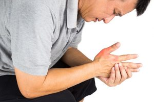 Gout with tophi (uric acid crystal deposits) can increase heart disease risk