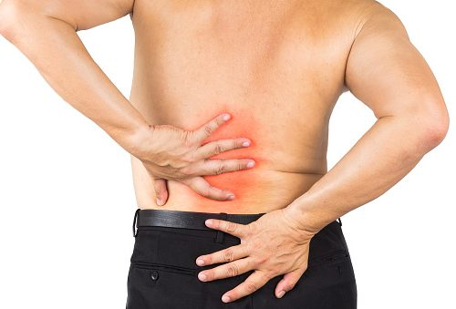 Symptoms of degenerative adult scoliosis