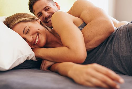 Weekly sex leads to happier couples