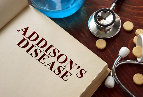 Addison's disease (adrenal insufficiency) and low cortisol hormone levels