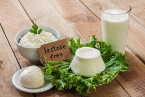 Lactose intolerance and the risk of diarrhea, gas and bloating