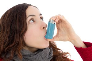 Dyspnea in asthma