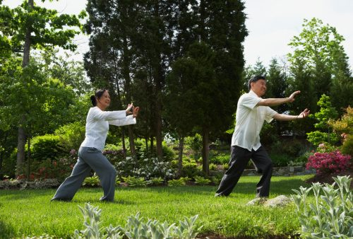 Inflammation reduced and health improved with better sleep and tai chi