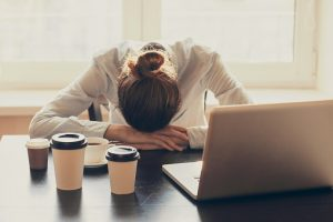 Daytime busyness affects sleep quality